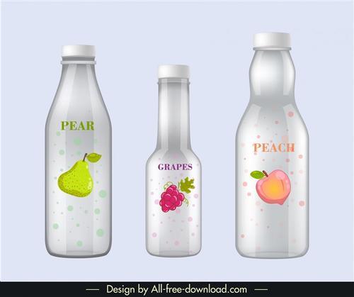 苏打水瓶子样机