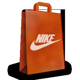 nike购物袋实拍