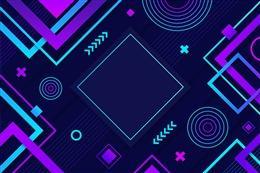 几何电商封面背景图