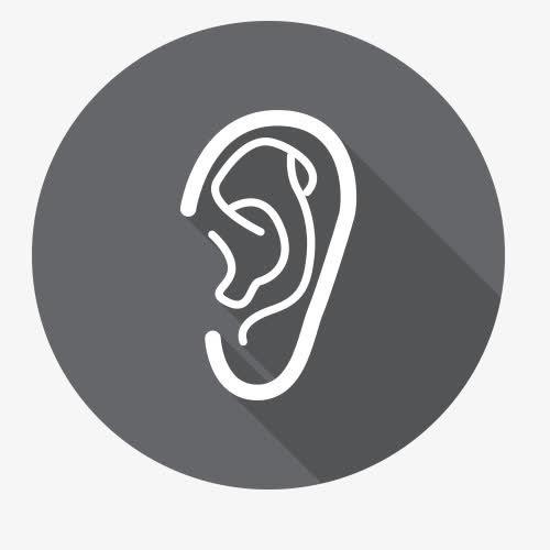 人体器官耳朵图标
