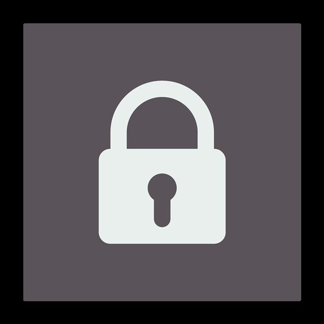 密码锁符号标志