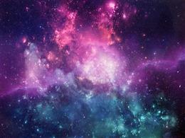 星空水粉画