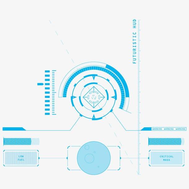 虚拟未来科技界面