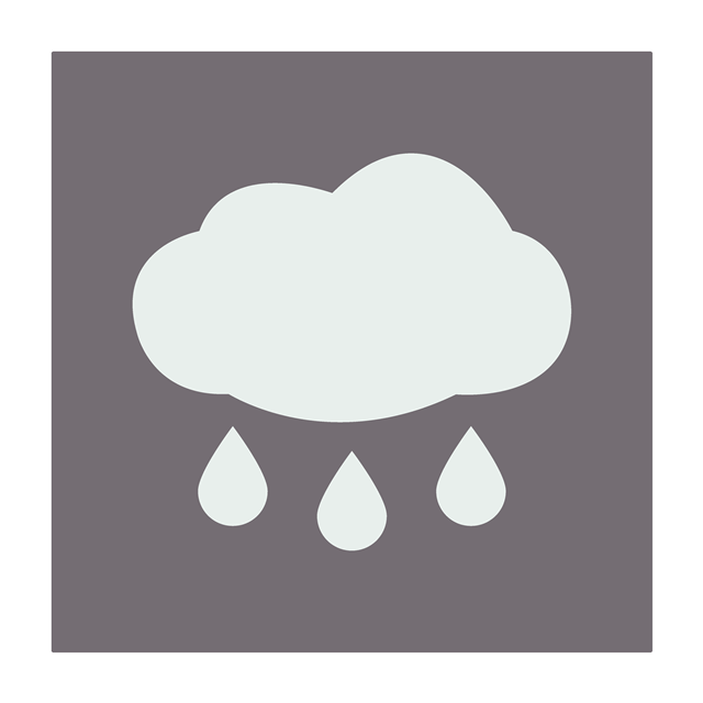 下雨天气符号标志