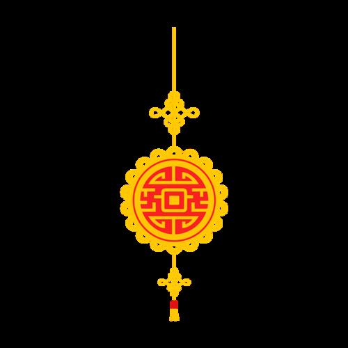 传统花纹挂饰