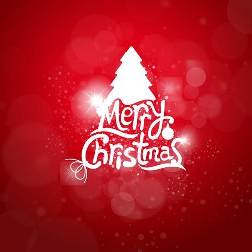 圣诞节贺卡创意背景