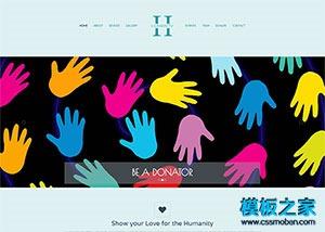 画廊图片展示网站模板