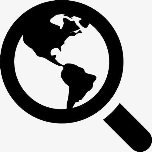 全球互联网搜索图标