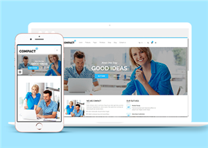 HTML5商务企业通用网站模板