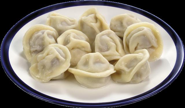 冬至饺子食物真实图片