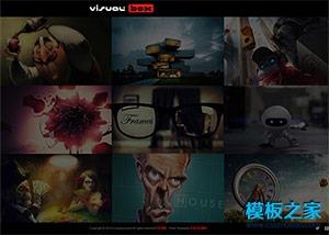 3D影视动画制作公司模板