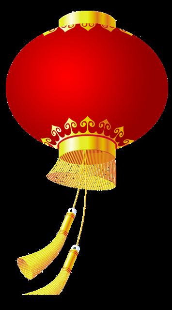元旦灯笼装饰