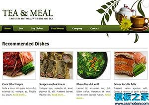 绿色专业设计布局网站模板