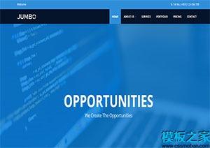企业响应式多页web网站模板