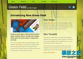 绿色食品行业模板