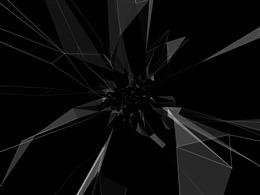 黑色视觉效果图
