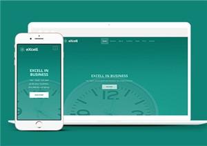 绿色UI响应式页面设计html5网站模板