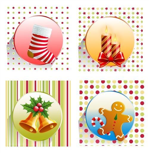 圣诞装饰系列元素