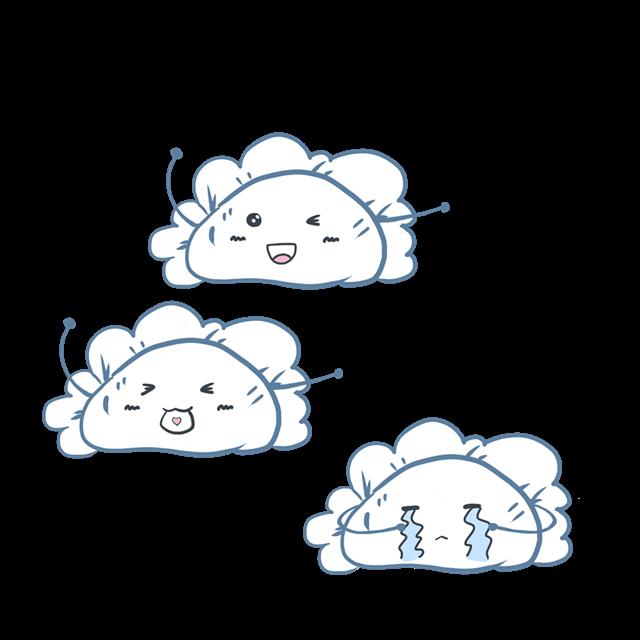 儿童水饺绘画图片