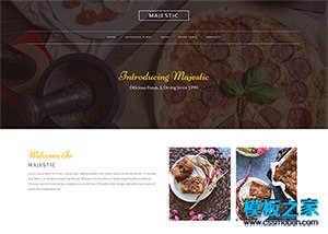 餐厅在线订餐网站模板