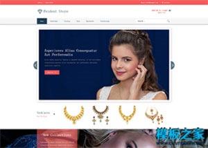 奢侈品购物商城网站模板