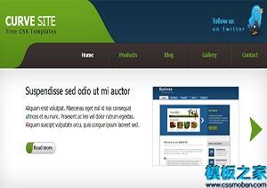 标准多页网站模板