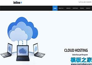 inline现代UX标准设计响应式网站模板