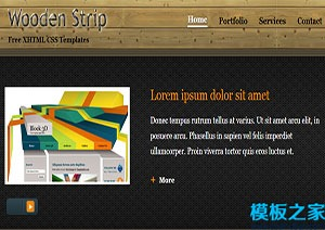 html博客主题网页模板