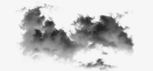 水墨云层装饰