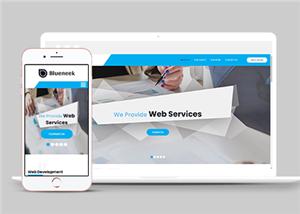 软件应用APP开发公司网站模板