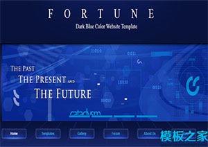 多列布局网站模板