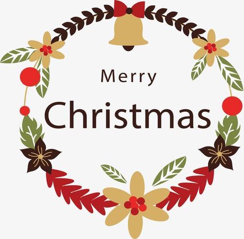 merryChristmas圣诞标题框