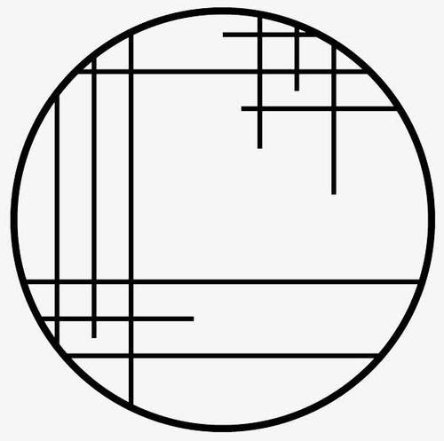 圆形窗户花纹边框