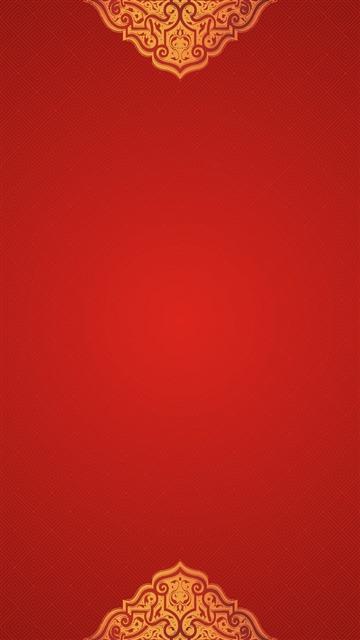 红色复古中国风背景图