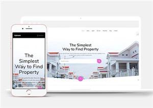房屋代理商网站模板