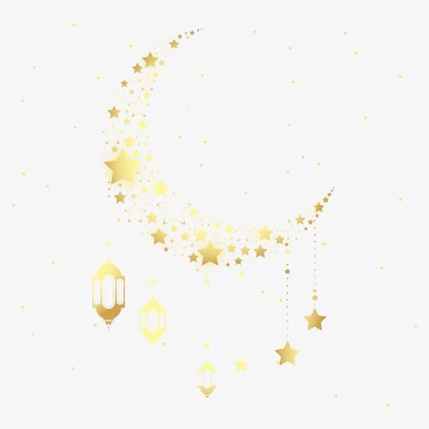 星星月亮装饰图案