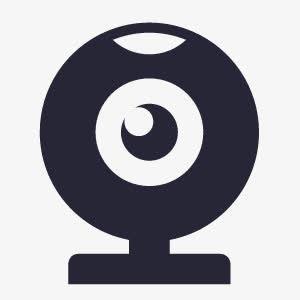 摄像头logo矢量图