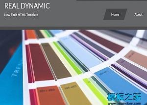公司服务介绍网站模板