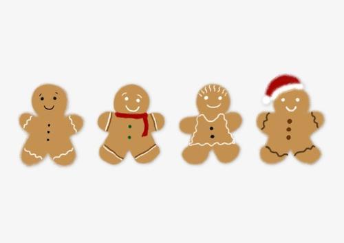 圣诞节姜饼人