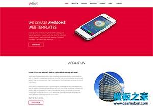 IT互联网公司网站模板