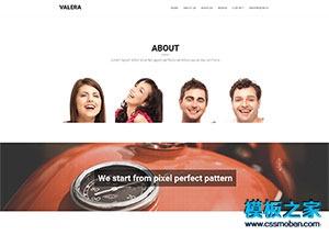 设计公司网页模板