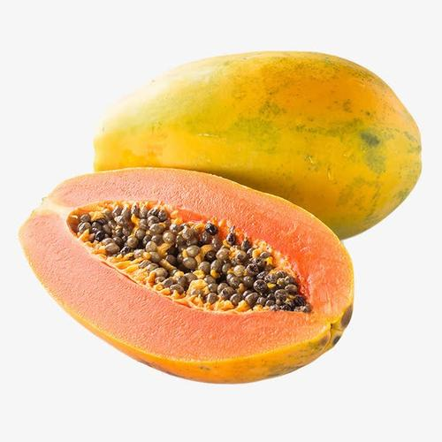 新鲜木瓜水果实物