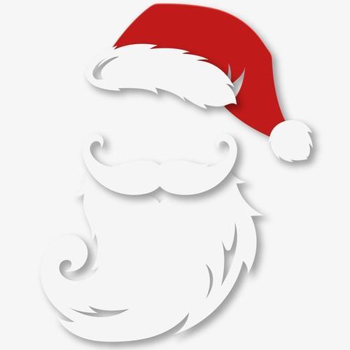 白胡子圣诞老人