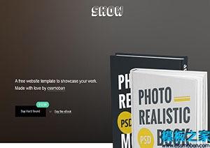 在线销售网上书城单页网站模板