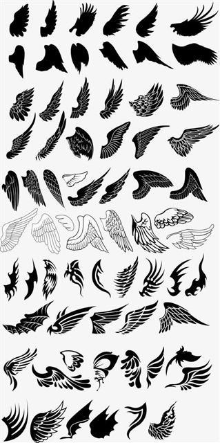 天使翅膀合集