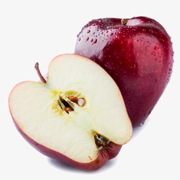 蛇果苹果高清实物免抠