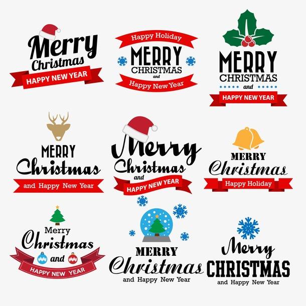 圣诞节可爱卡通字体