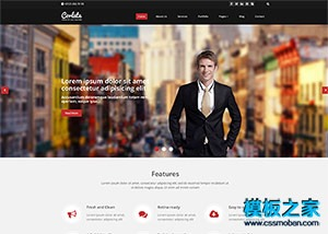 外贸加工服务业网页模板