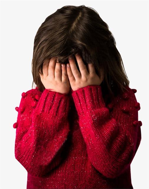 哭泣的小女孩