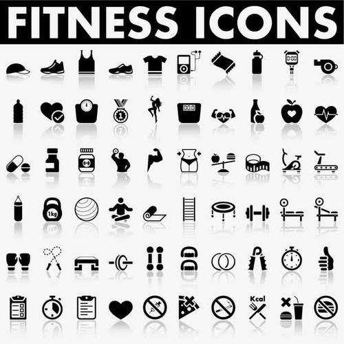 运动健身图标